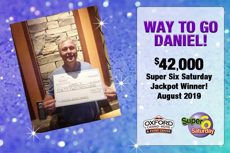 $42,000 Super Six Jackpot Winner