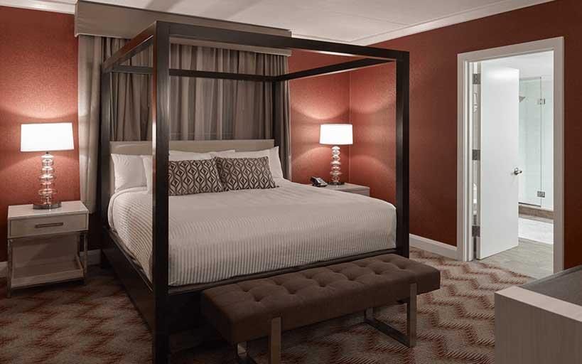 Suite Bedroom Area