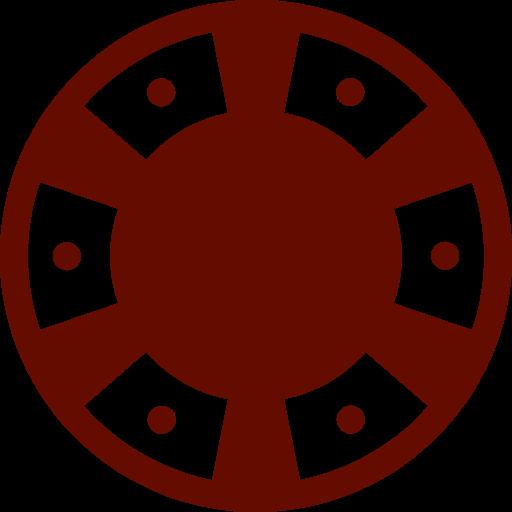 Casino Chip Icon Image